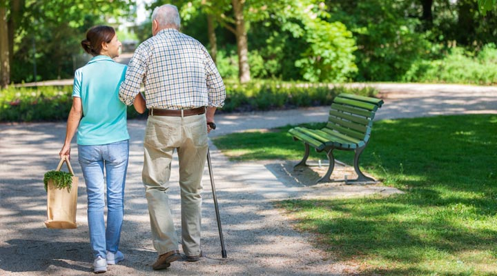 Home Care providing companionship